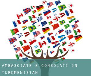 Ambasciate e Consolati in Turkmenistan